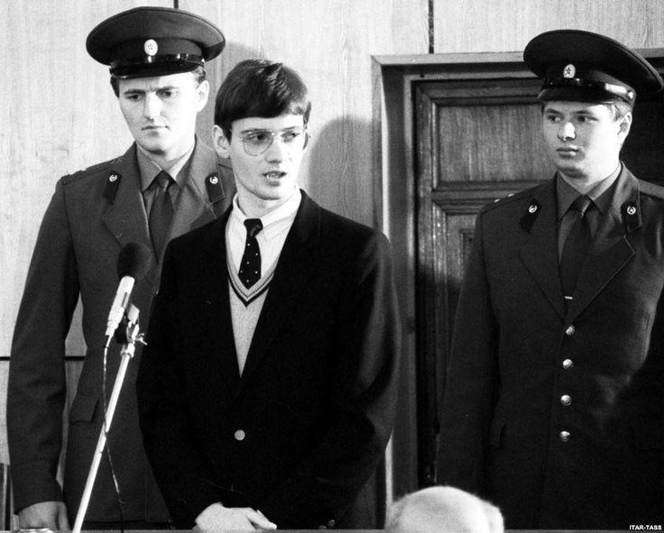 Juicio de Mathias en diciembre de 1987.