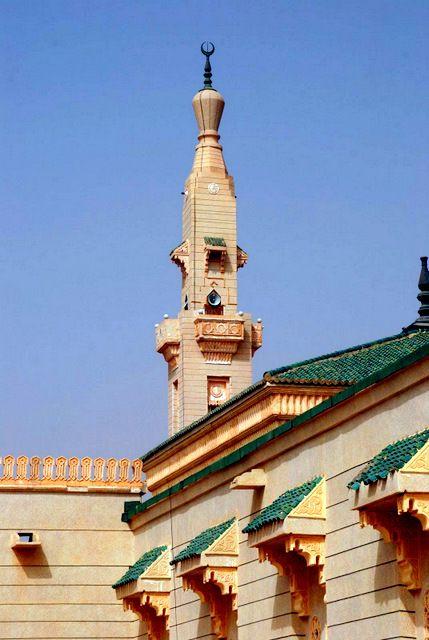 Mezquita en Mouakchott Vía Roderick Phillips